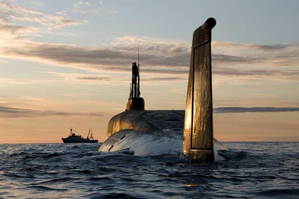 borei submarine