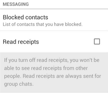 Cara Disable Ceklis Biru/Pesan Terbaca Pada Whatsapp Android