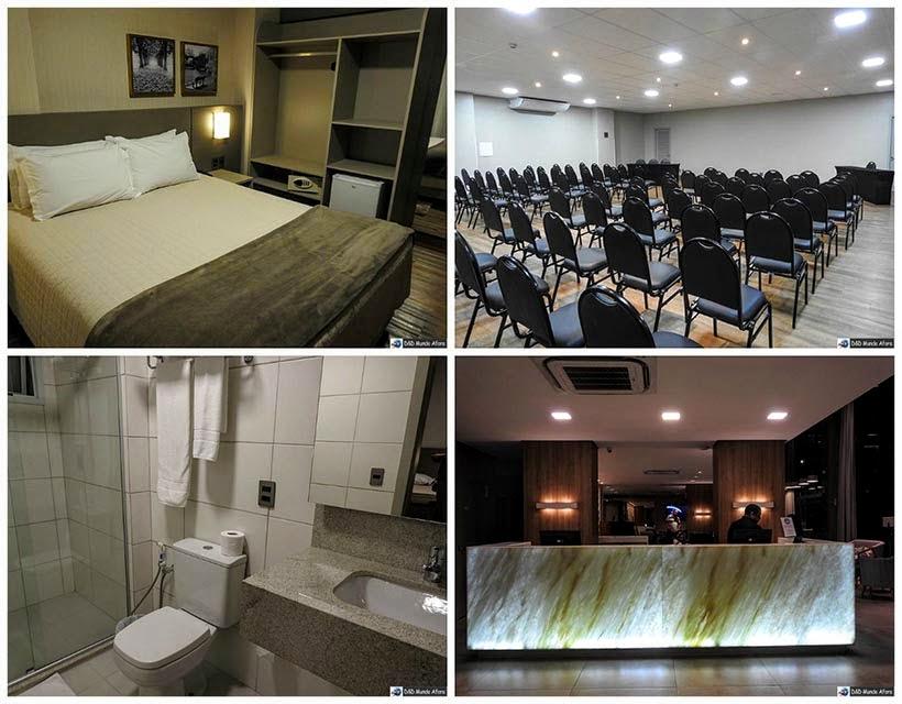 Onde ficar em Criciúma - Hotel Interclass -  Diário de bordo - Encontro Rota Sul em Santa Catarina
