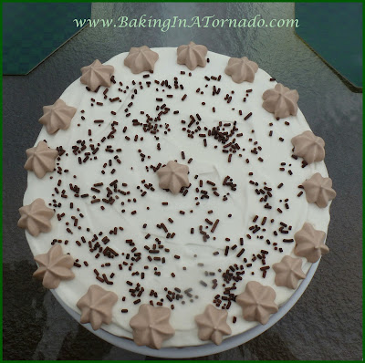 Chocolate Ice Cream Cake | www.BakingInATornado.com | #recipe #cake