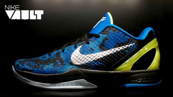 "competitive price 75983 c34c2 Nike Zoom Kobe VI ""Blue Camo"" Available at Nike Vault"