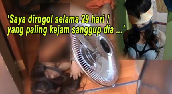 NGERI ! Gadis Dedah Detik Hitam Dirogol Selama 29 Hari , Yg Paling KEJAM, Tergamak Perogol Tu...