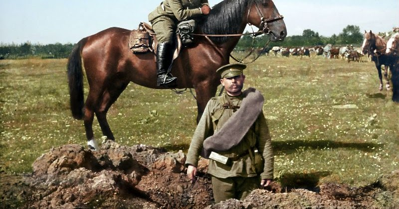 56 Incredible Colorized Photos That Revived 'Russia During WWI'