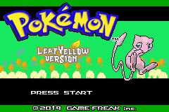 pokemon leaf yellow