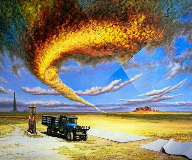 Фантастический реализм, фотореализм и сюрреализм. Roland Heyder