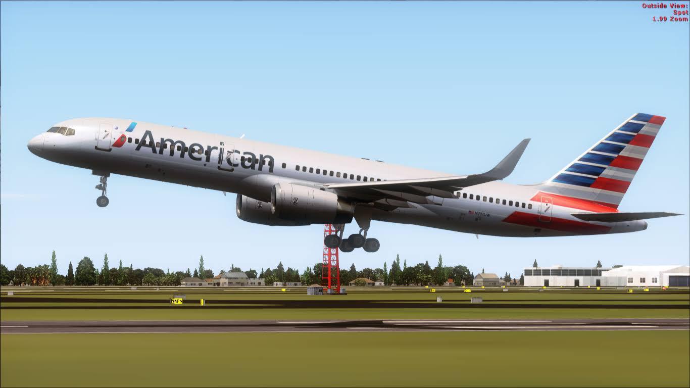 FlyRepaints : TDS- Boeing 757-200 American Airlines NC N203UW