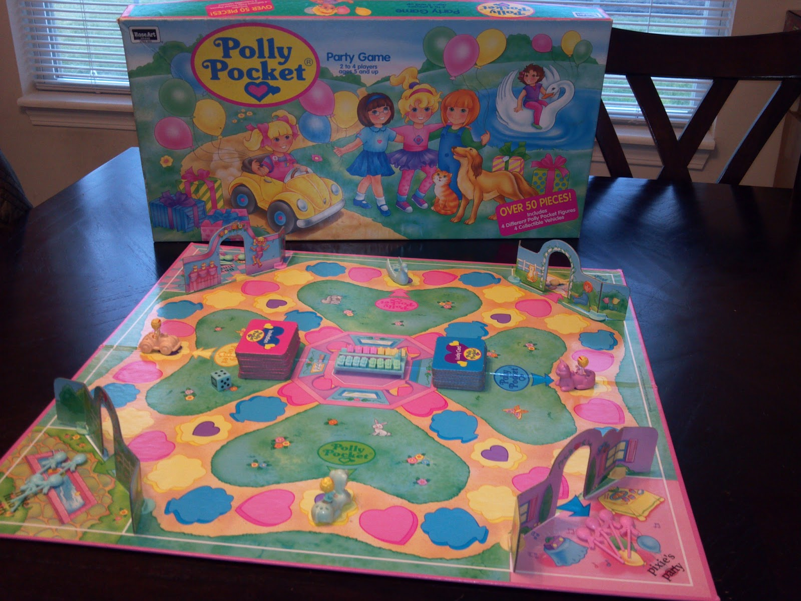 Polly Pocket Party Game | A Board Game A Day