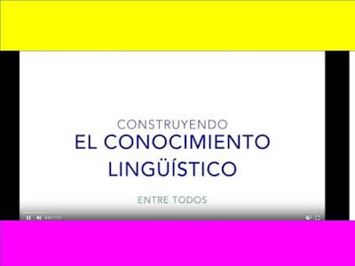 Construyendo el conocimiento lingüístico