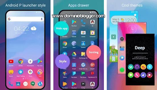 Super P Launcher para Android
