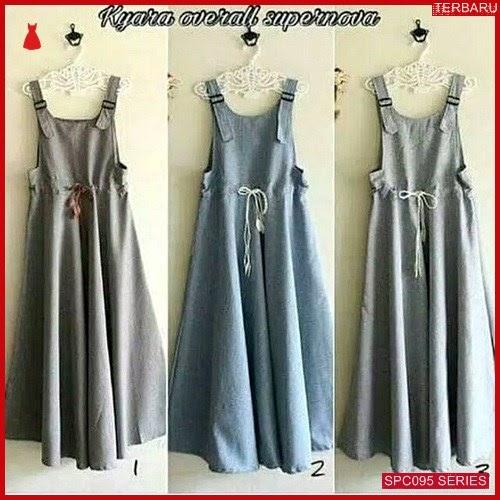 SCP095K51 Kyara Overall Muslim Fashion Jumpsuit & Overall Wanita | BMGShop