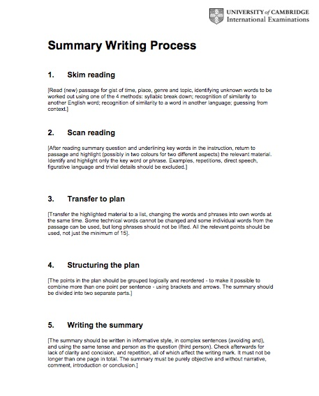 5 easy Steps to a successful Essay