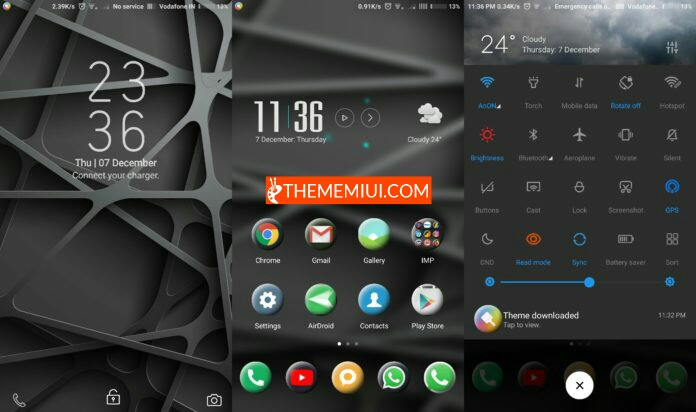 Grey Area Theme thememiui.com