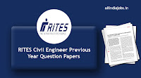 RITES Civil Engineer Previous Year Question Papers