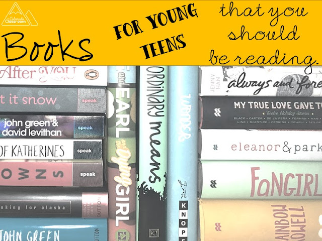 Books for Young Teens that You Should Be Reading