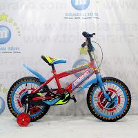16 erminio sepeda anak laki-laki bmx
