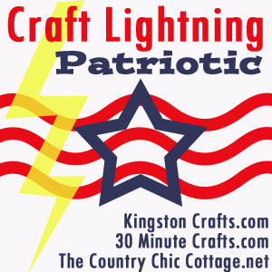 crafting patriotic 4th of July craft