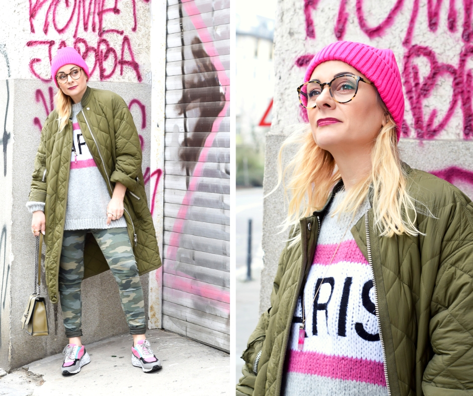 Outfit mit Ugly Sneakern. Ugly Sneaker Look