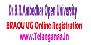 Dr.B.R.Ambedkar Open University (BRAOU) UG Online Registration