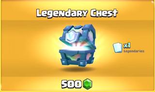 legendary chest clash royale