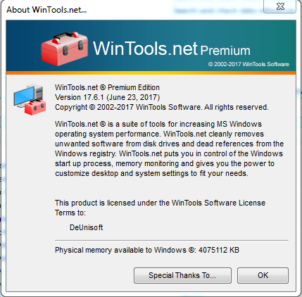 Download WinTools.net Premium 17.6 Full Version