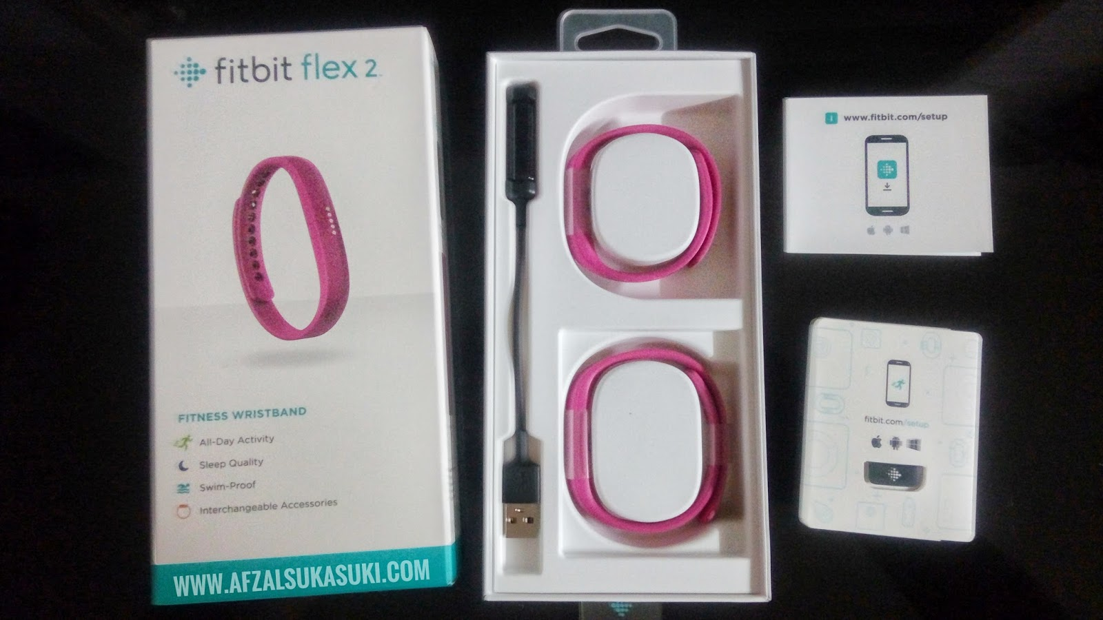manual for fitbit flex 2