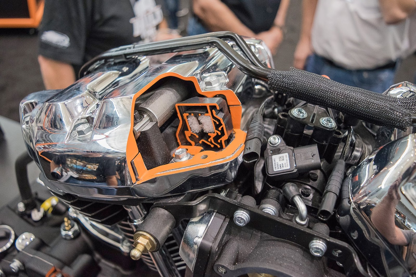 Harley Milwaukee 8 >> The View From Stormy Hill: Harley-Davidson new motor: The