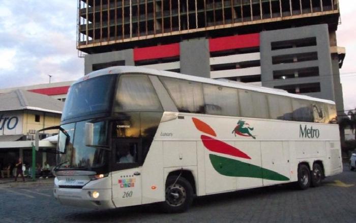 DGII cierra terminal Autobuses Metro