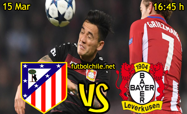 Ver stream hd youtube facebook movil android ios iphone table ipad windows mac linux resultado en vivo, online: Atlético Madrid vs Bayer Leverkusen