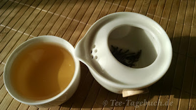 Paper & Tea Be-Bop im Einsatz - zweiter Aufguss
