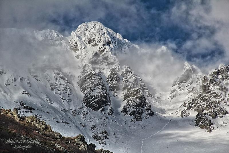 Montaña Palentina. Curavacas invernal
