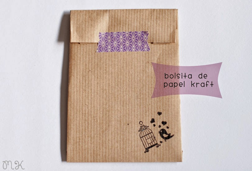 tutorial bolsitas kraft packaging