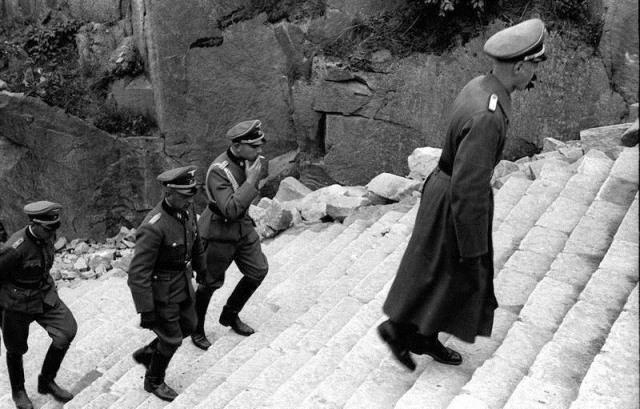 La escalera de la muerte de Mauthausen