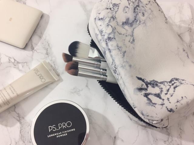 Primark marble makeup bag