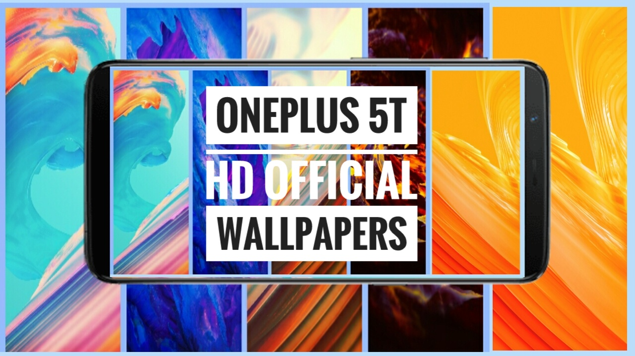 Official Wallpapers of OnePlus 5T