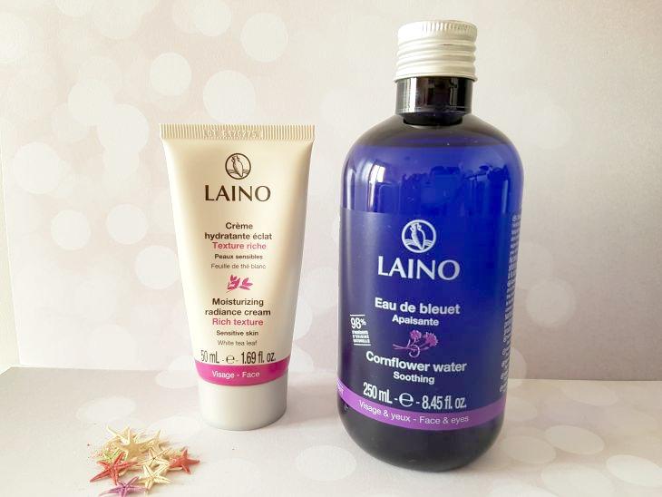 eau de bleuet visage de Laino