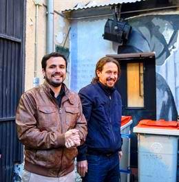 IU apoya el pacto con Podemos