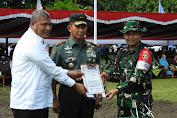 Pangdam IX/Udayana Tutup TMMD ke 104 Kodim 1614/Dompu