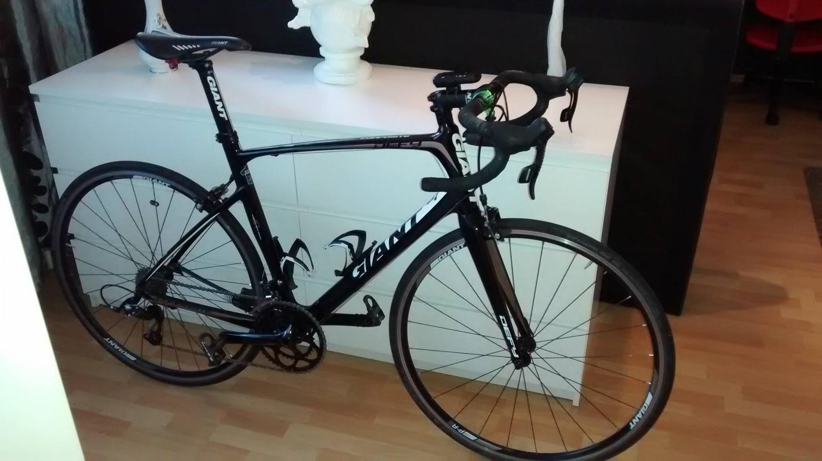 Nikkls bike blog ronnys giant defy 1 - Fensterglas austauschen rahmen behalten ...
