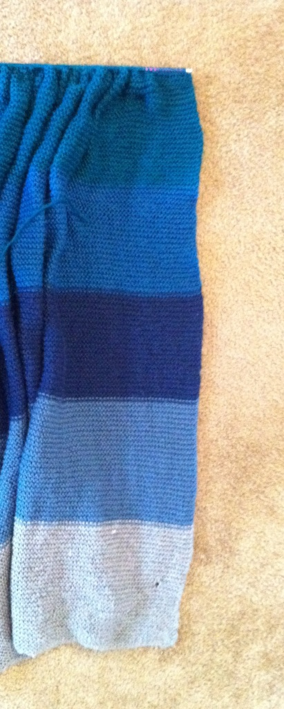 Dreaming, Wild, and Free: Knit-a-Blanket Project, Stripe 6