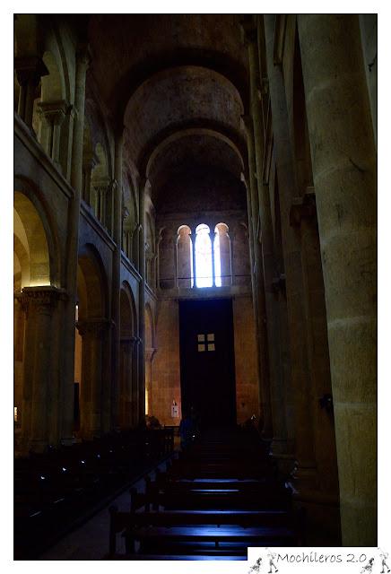 Interior de Sé Velha, Catedral Vieja de Coimbra