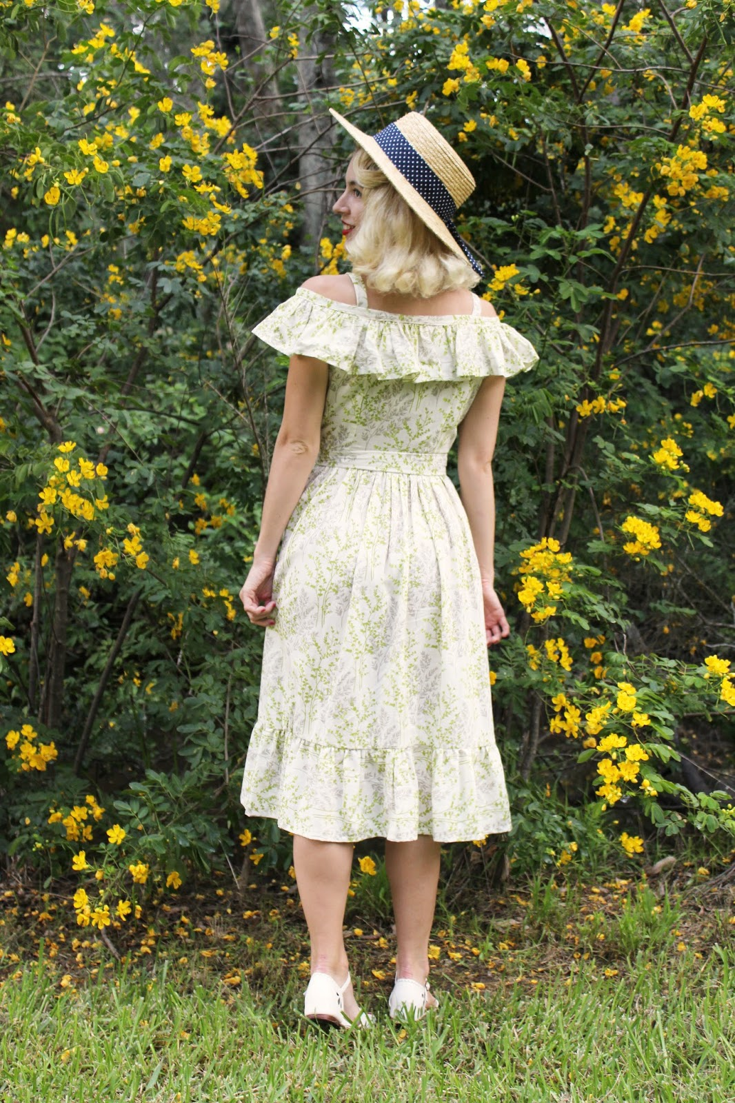 Gracefullyvintage Sewing 1940s Summer Dress