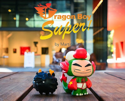 Dragon Boy Super Vinyl Figure Set by Martin Hsu x PowerCore