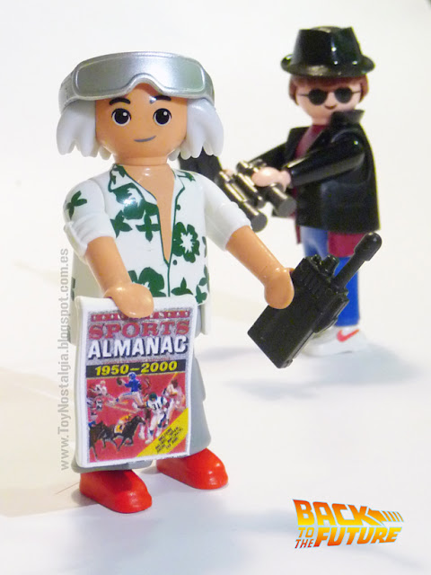 Playmobil Back To The Future Doctor Brown Marty McFly  - SPORTS Almanac