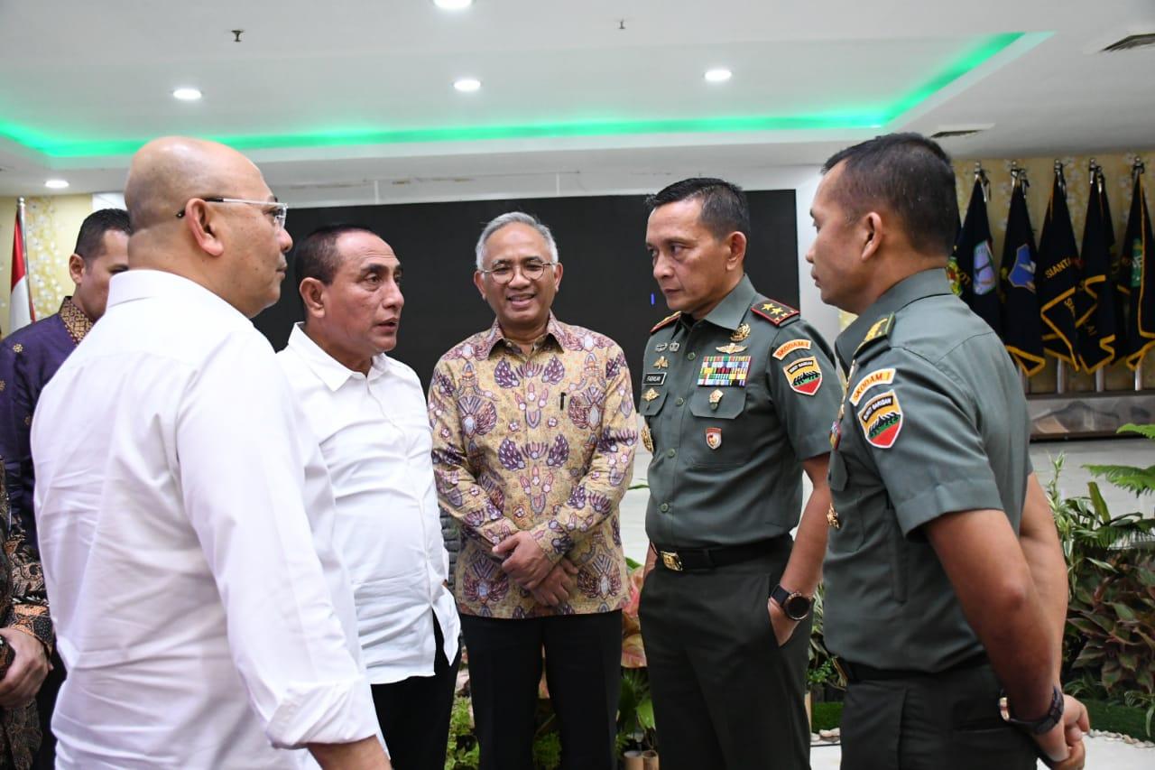 Pangdam I/BB Hadiri Kesepakatan Pembangunan Jalan Tol