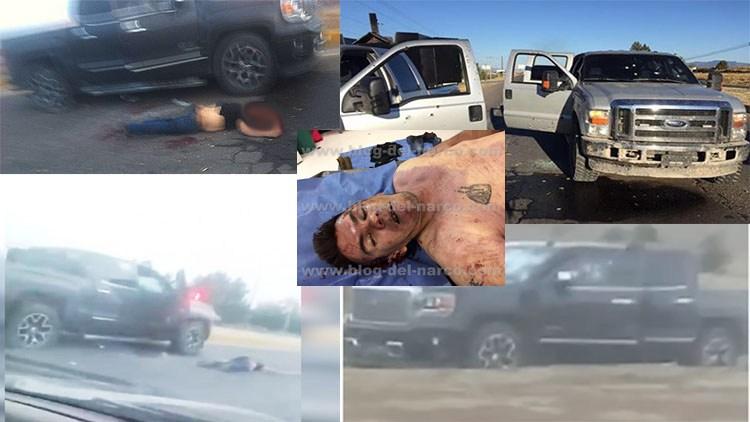"""Foto en la Morgue de """"El Cabo"""" ya jalaba para el CJNG y """"El 80"""" pa """"La Línea"""" se encontraban Bajo fuego y sangre"""