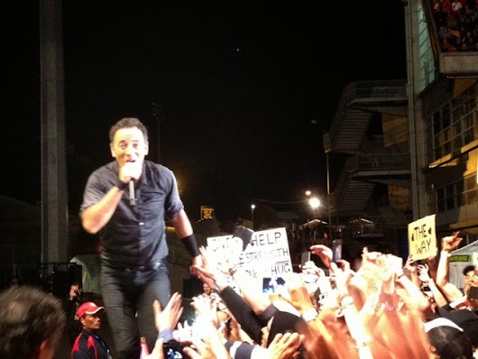 Springsteen at Auckland - Show 2