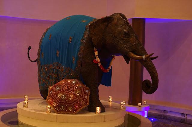 Hello Freckles Seaham Hall Sundari Treatments Launch Event Elephant