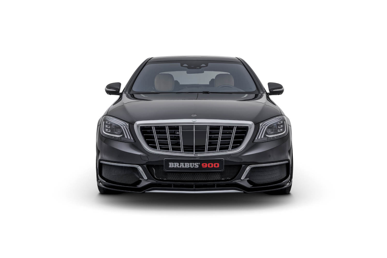 maybach s650 not enough check out the new brabus 900