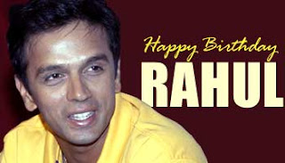 Rahul Dravid Birthday Quotes