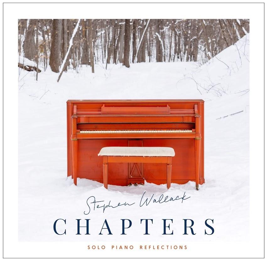 Un arcoíris emocional en el piano acústico de Stephen Wallack.